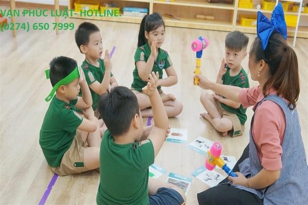 Điều kiện thành lập trường mầm non đối với người Việt Nam