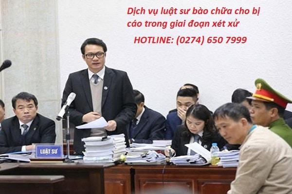 Dịch vụ luật sư bào chữa cho bị cáo trong giai đoạn xét xử