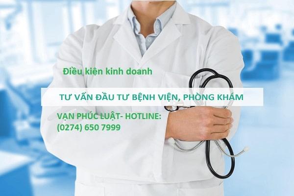 Điều kiện kinh doanh đối với phòng khám đa khoa
