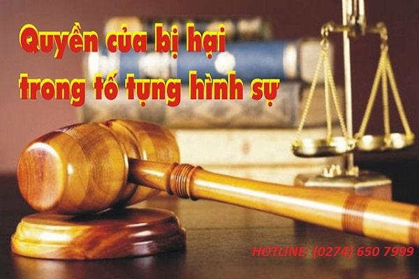 Luật Sư Bảo Vệ Cho Người Bị Hại, Người Thân Của Họ