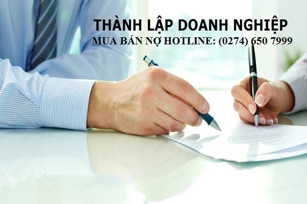 Thủ tục thành lập công ty mua bán nợ