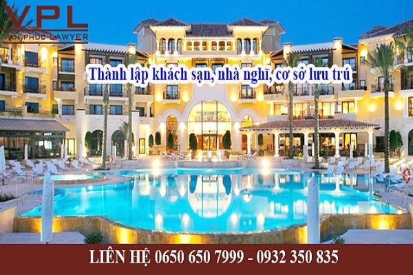 Dịch vụ thành lập công ty kinh doanh nhà nghỉ khách sạn tại Bình Dương