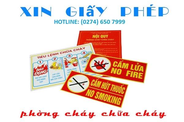 Dịch vụ Giấy phép phòng cháy chữa cháy