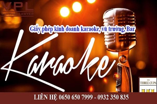 Điều kiện kinh doanh karaoke vũ trường