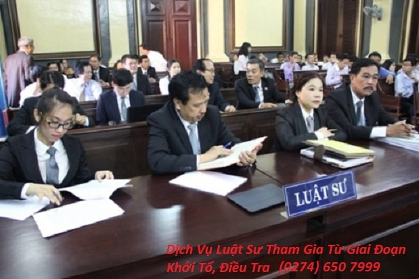 Dịch Vụ Luật Sư Tham Gia Từ Giai Đoạn Khởi Tố, Điều Tra