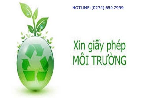Dịch vụ giấy phép môi trường