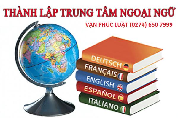 Điều kiện thành lập trung tâm ngoại ngữ