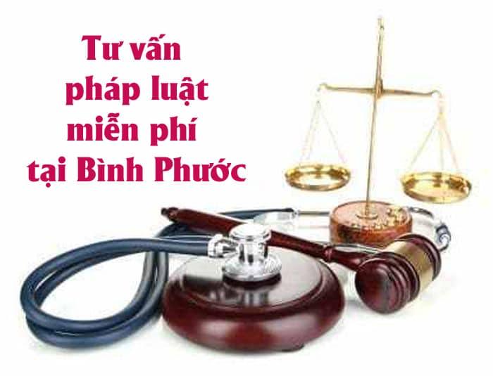 Văn phòng luật sư Bình Phước tư vấn pháp luật miễn phí