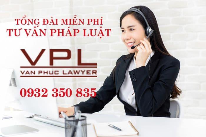tổng đài tư vấn pháp luật miễn phí