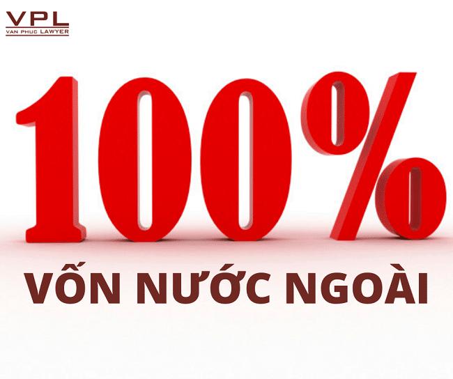 Đặc điểm của doanh nghiệp có 100% vốn đầu tư nước ngoài